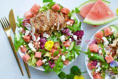 Veckans middagstips: Kyckling i ugn med vattenmelon- och fetaostsallad