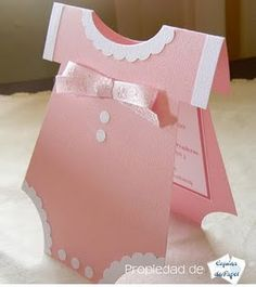 DIY Baby Shower Invitations for Girls Tarjetas Baby Shower Niña, Moldes Para Baby Shower, Baby Shower Invitaciones, Baby Shower Cards, Baby Shower Parties, Baby Shower Themes, Baby Shower Gifts, Baby Gifts, Shower Ideas