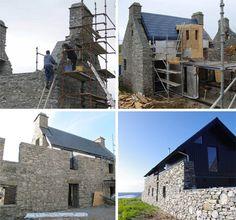 refab rebuilt island house