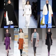 my daywear picks / #trends at Milano Fashion Week A/W 2018