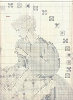 PATRONES DE PUNTO DE CRUZ Y ALGO MÁS (pág. 39) | Aprender manualidades es facilisimo.com