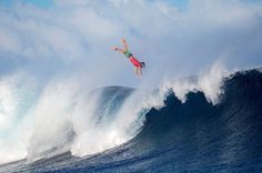 Julian Wilson of Australia wipes out - Kirstin Scholtz/WSL/Getty Images