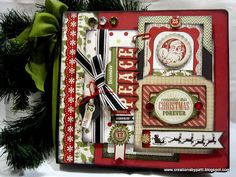 Creations by Patti: Christmas Traditions Embellish Mini Album