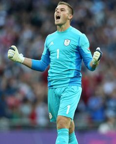 Jack Butland - Britain/England Goalkeeper. Registered a clean sheet vs Uruguay to help lift Britain to the 1-0 win.  Britain advanced to the 2012 Olympics football tournament quarter-finals as winners of Group A.