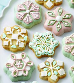How To Make Snowflake Cookies from @joannstores.