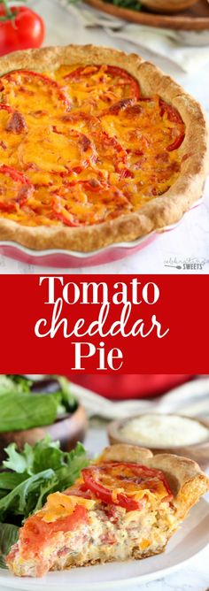 tomato cheddar pie savory tomato cheddar pie a buttermilk biscuit ...