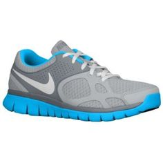 Nike Flex Run - Women's - Running - Shoes - Wolf Grey/Blue Glow/Cool Grey/White--lady footlocker 79.99