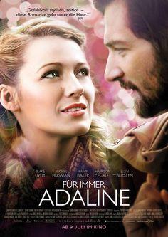 Kino Film Vorstellung: FÜR IMMER ADALINE plus Gewinnspiel