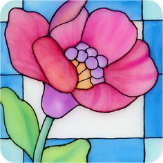 simple glass painting designs for beginners - Google Search
