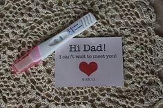 Hi Dad, I'm looking forward to meeting you!