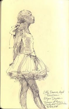 Bernie's Painting , Jazz and some comments.: Dancing with Degas