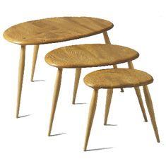 Ercol nesting tables - lovely bit of mid-century modern