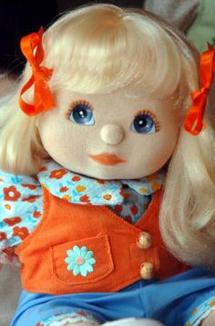 Vintage MyChild Doll from the 80s. LOVED MY MY CHILD DOLL! Her name was April