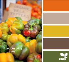 peppered hues