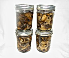 365 Days of Creative Canning: Day 59: Pressure Canned Mushrooms
