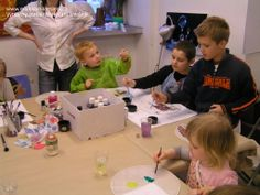 Drawing and painting lesson in our fine art studio