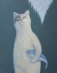 Gunter and His Pet Fish, Klaus by White Moon Studio