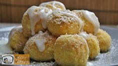 Túrógombóc recept, túrógombóc elkészítése - Recept Videók Krispie Treats, Rice Krispies, Doughnut, Muffin, Breakfast, Recipes, Food, Sweet Desserts, Dumpling Recipe