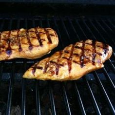 Grilled Asian Chicken food-and-drink