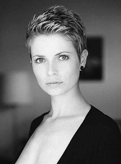 my hair was cut very simular to this one. now if I only looked like her that would certainly make my day!!!!