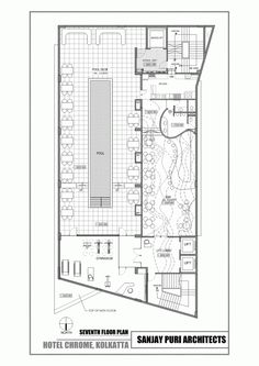 floor plan creator chrome. Chrome Hotel  Sanjay Puri Architects Guestrooms Floorplan lodges Pinterest floor plan