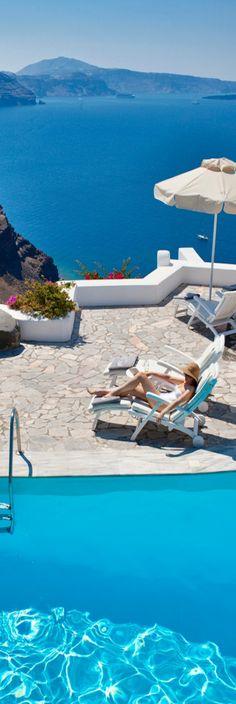 Canaves Oia Hotel - Santorini.  ASPEN CREEK TRAVEL - karen@aspencreektravel.com