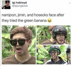Green bananas really are disgusting though xD
