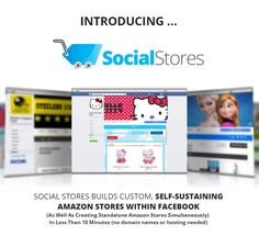 """Social Stores is AMAZING Product created by Emma Anderson. Social Stores is TOP Software to Build Viral Profit Pulling with Facebook and AMAZON in Minutes no Domain Names or Hosting Needed. Social Stores COMBINE THE POWER OF FACEBOOK WITH AMAZON TO BUILD…VIRAL PROFIT PULLING SOCIAL STORES IN MINUTES INSIDE FACEBOOK USING NEW ADVANCED """"SOCIAL TECHNOLOGY"""". Build Automated Social Stores Inside Facebook in Minutes With Push Button Ease Just In Time For For The New Year – 2017"""
