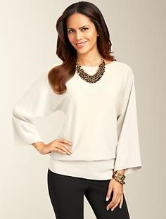 Talbots - Batwing Sweater   Sweaters   Misses