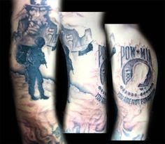 US Army Soldier POW/MIA Tattoo