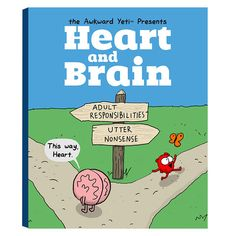 Heart and Brain: An Awkward Yeti Collection – The Official Awkward Yeti Store - theAwkwardStore.com