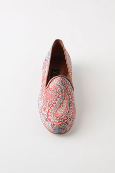 Patterned loafers . . .
