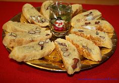 salted almond and cheese cantucci