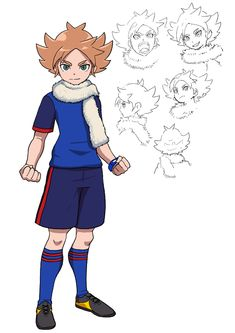 Inazuma Eleven Go, Levi Ackerman, Thing 1, Character Design, Drawings, Fictional Characters, Venus, Anatomy, Character Sketches