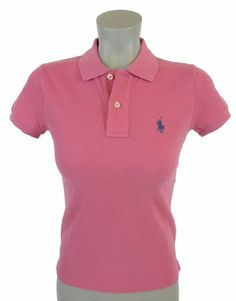 "Ralph Lauren Womens ""The Skinny Polo"" Polo Shirt « ShirtAdd.com – Perfect Fit Shirts"