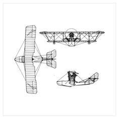 Airplane Blueprint.