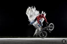 Energy that never stops BMX Flatland