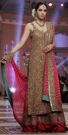 Pakistani fashion... dress by umer syeed
