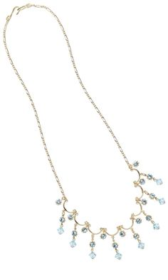 Jewelry Design - Single-Strand Necklace with Gold-Plated Chain and Swarovski Crystal Beads - Fire Mountain Gems and Beads