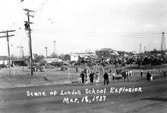 The London High School, Texas explosion was Walter Cronkite's first major story he covered (and he never forgot it).
