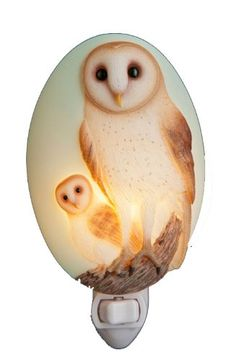 Barn Owl Night Light - Decorative Night Lights