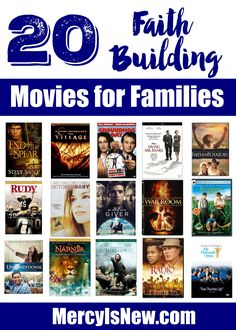 20 Faith Building Movies for Families