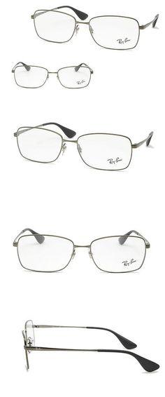 84e8ffc3821 Fashion Eyewear Clear Glasses 179240  Rayban Rb6336m 2620 Matte Gunmetal Unisex  Eyeglasses Prescription Frame -