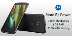 Lenovo on Monday unveiled its all new Moto Power in India. The latest smartphone will exclusively available at Flipkart from Monday midnight priced at Rs Moto will also come with Reliance Jio welcome offer. Mobile Deals, Ios Phone, Windows Phone, Discount Coupons, Dual Sim, Smartphone, Android