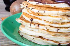 Chocolate Chip and Coconut Buckwheat Pancakes: A healthier version of a pancake for the sweet tooth in everyone.