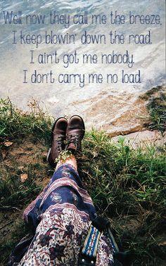 Call Me The Breeze - Lynyrd Skynyrd - Classic Rock Lyrics