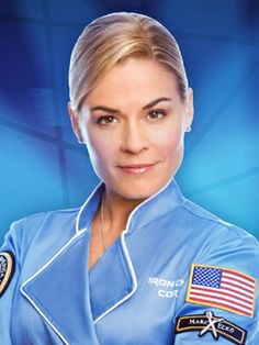 First and only female Iron Chef, Cat Cora. Her food is known for being inventive, fresh and delicious.