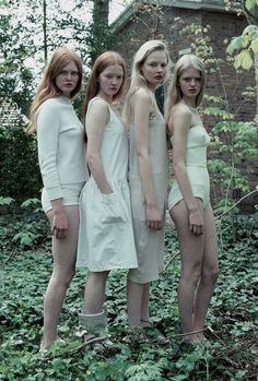 Photographed by Hellen Van Meene for Tank Magazine