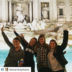 #Repost @alexandraplease This is what dreams are made of #trevifountain #Roma #studyabroad #ispyapi by apiabroad