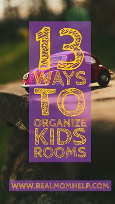Your kids' toys are literally everywhere! You can't find their clothes you are looking for. Unorganized chaos surrounds the kids' bedroom on a daily basis.